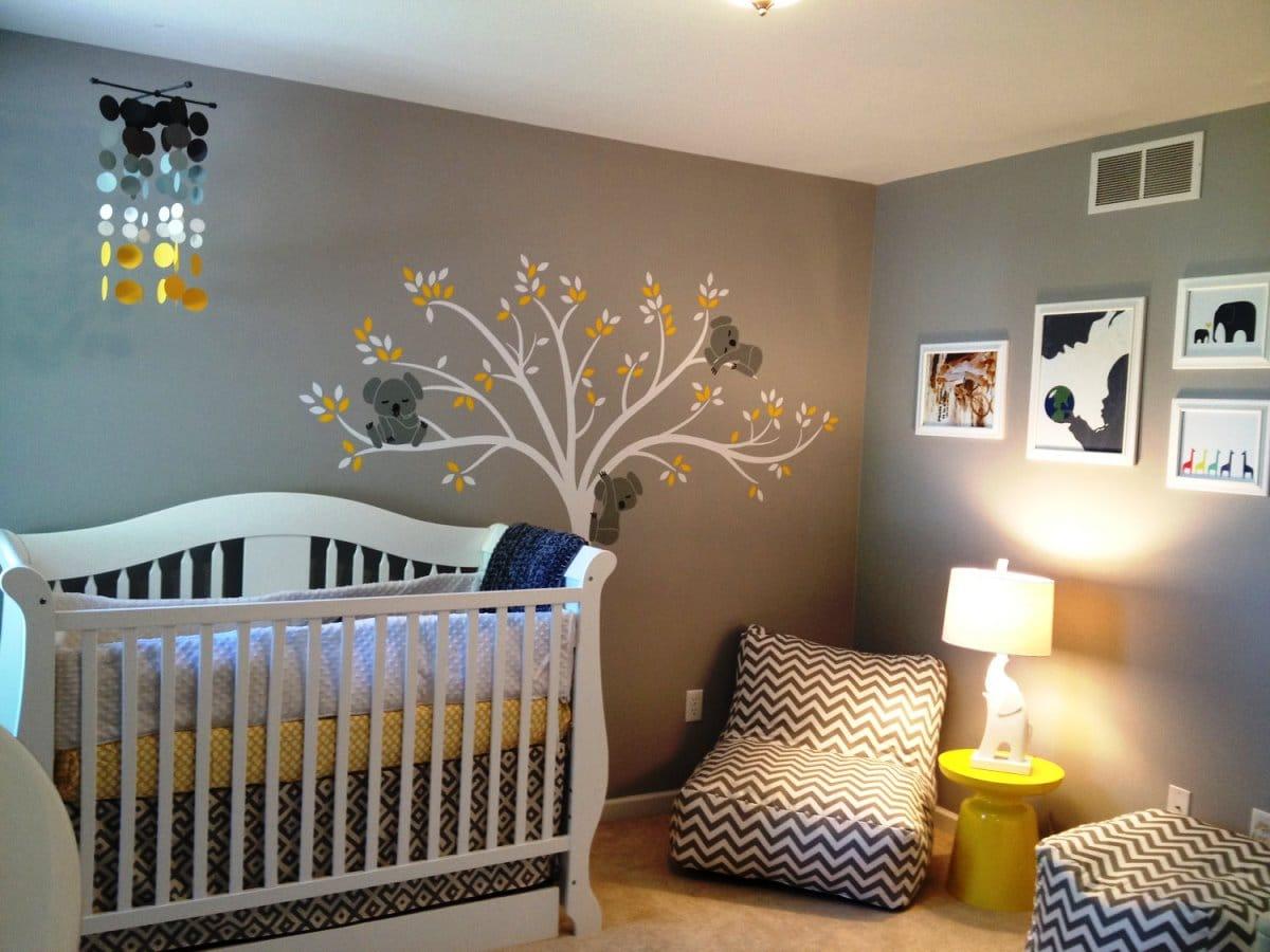 cool diy baby room